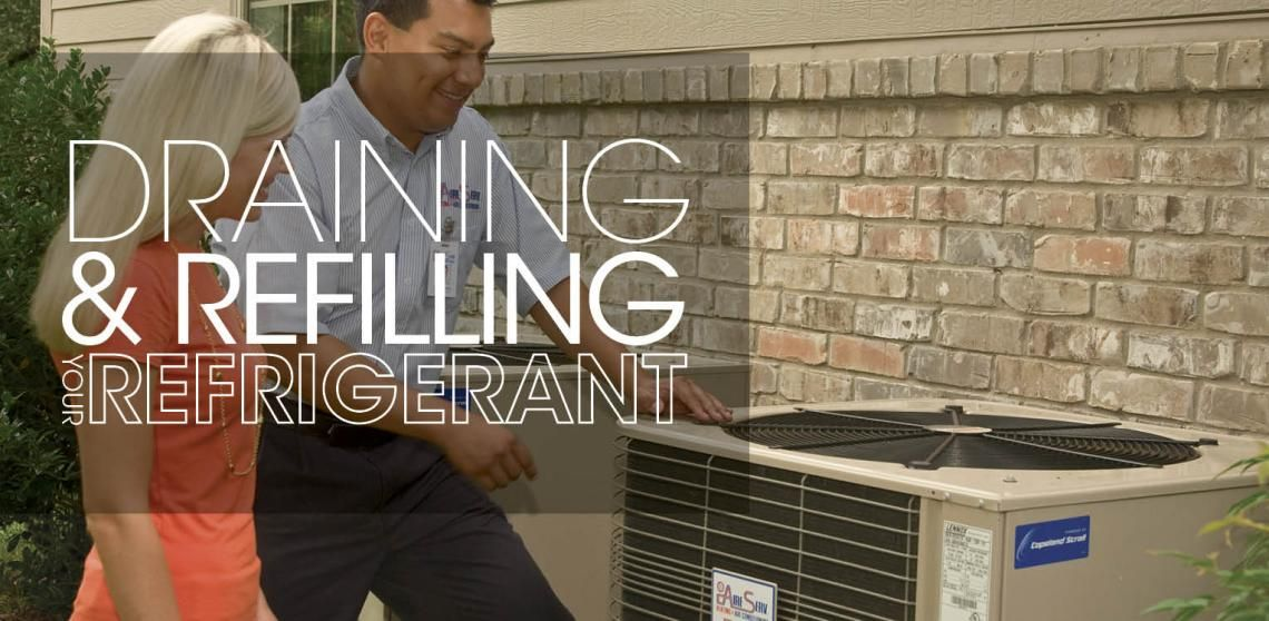 Tips for Draining and Refilling Refrigerant Air