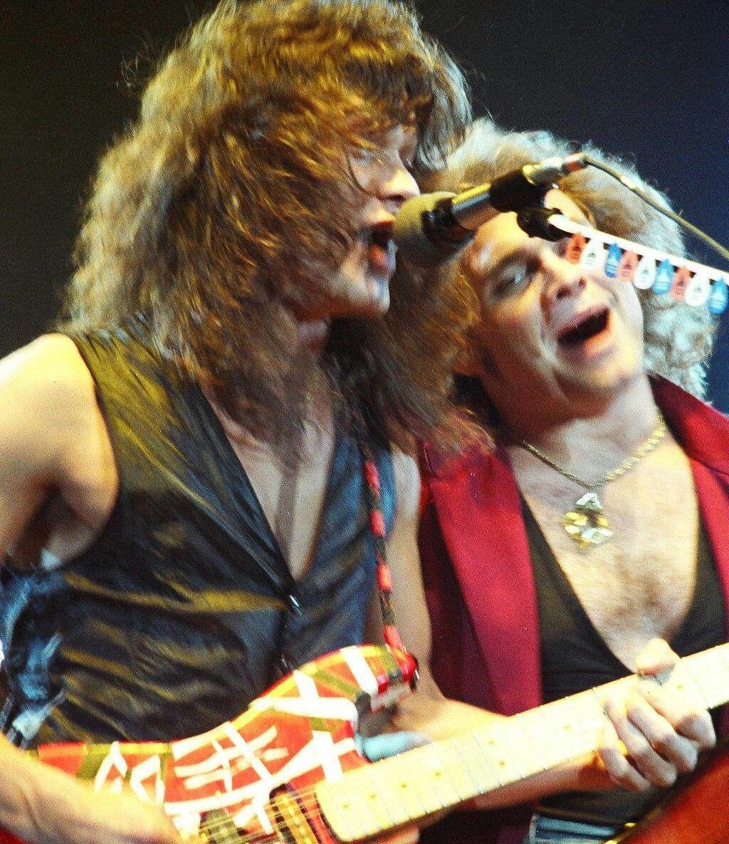 Ed Michael Van Halen Eddie Van Halen David Lee Roth
