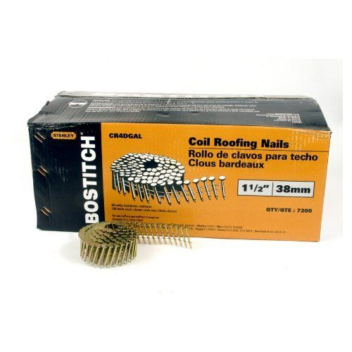 Airtoolsdepot Bostitch 1 1 2 Inch Smooth Shank 15 Coil Roofing Nails 7 200 Qty From Bostitch We Are Delighted To Offer The Excellent Clavo El Rollo Techo