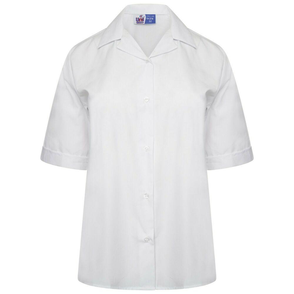 Boys Girls Plain Polo Shirt Kids School T-Shirts Children Casual Summer PE Top
