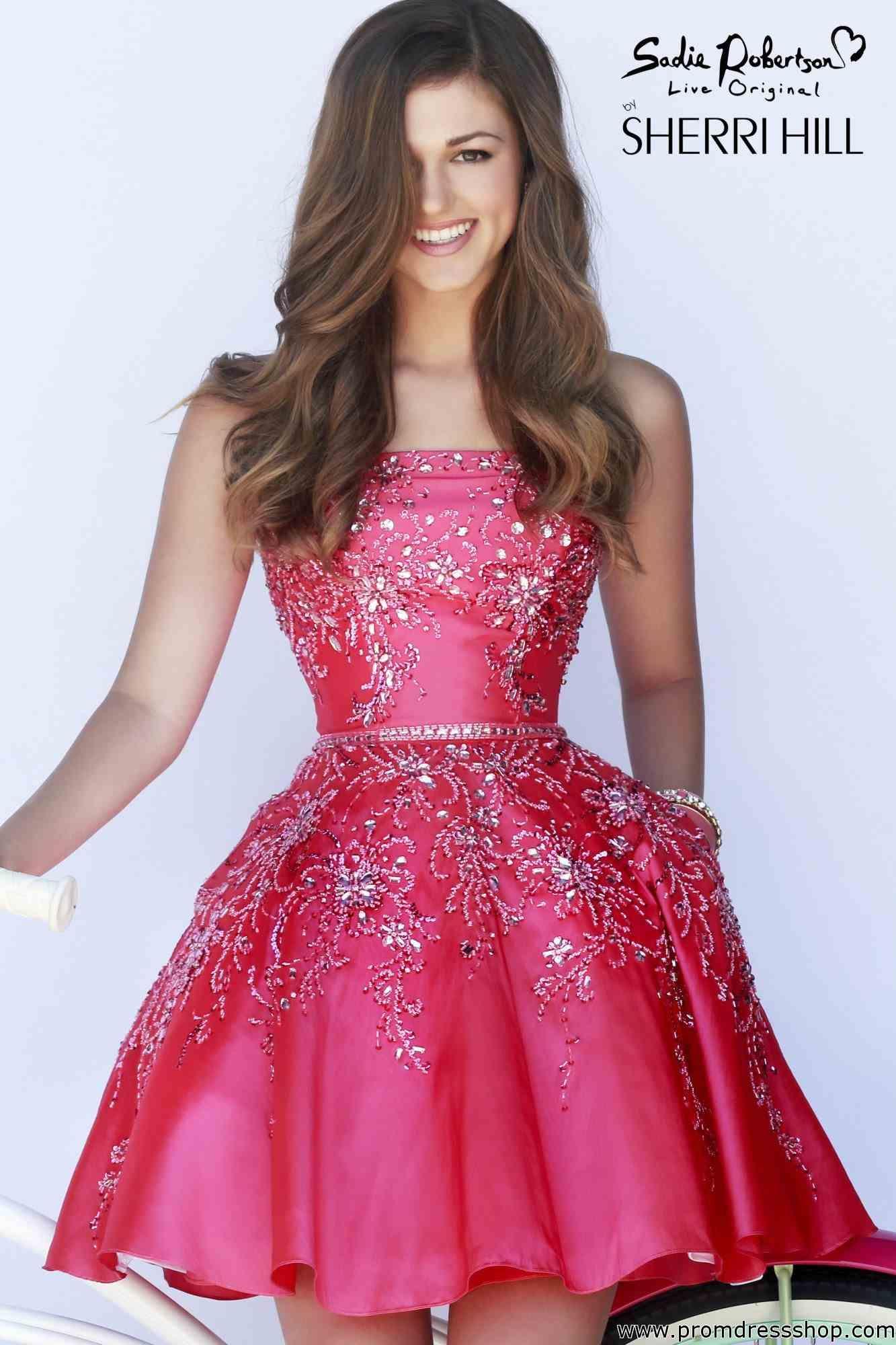 Beautiful Sherri Hill Short Dress 21362 | Sherri hill short dresses ...