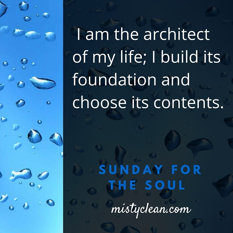 Say this affirmation OUT LOUD!  Love ya, Misty Clean Inc.