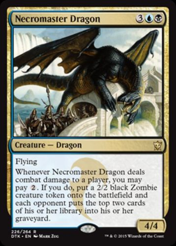 mtg blue black silumgar sacrifice deck magic the gathering rare