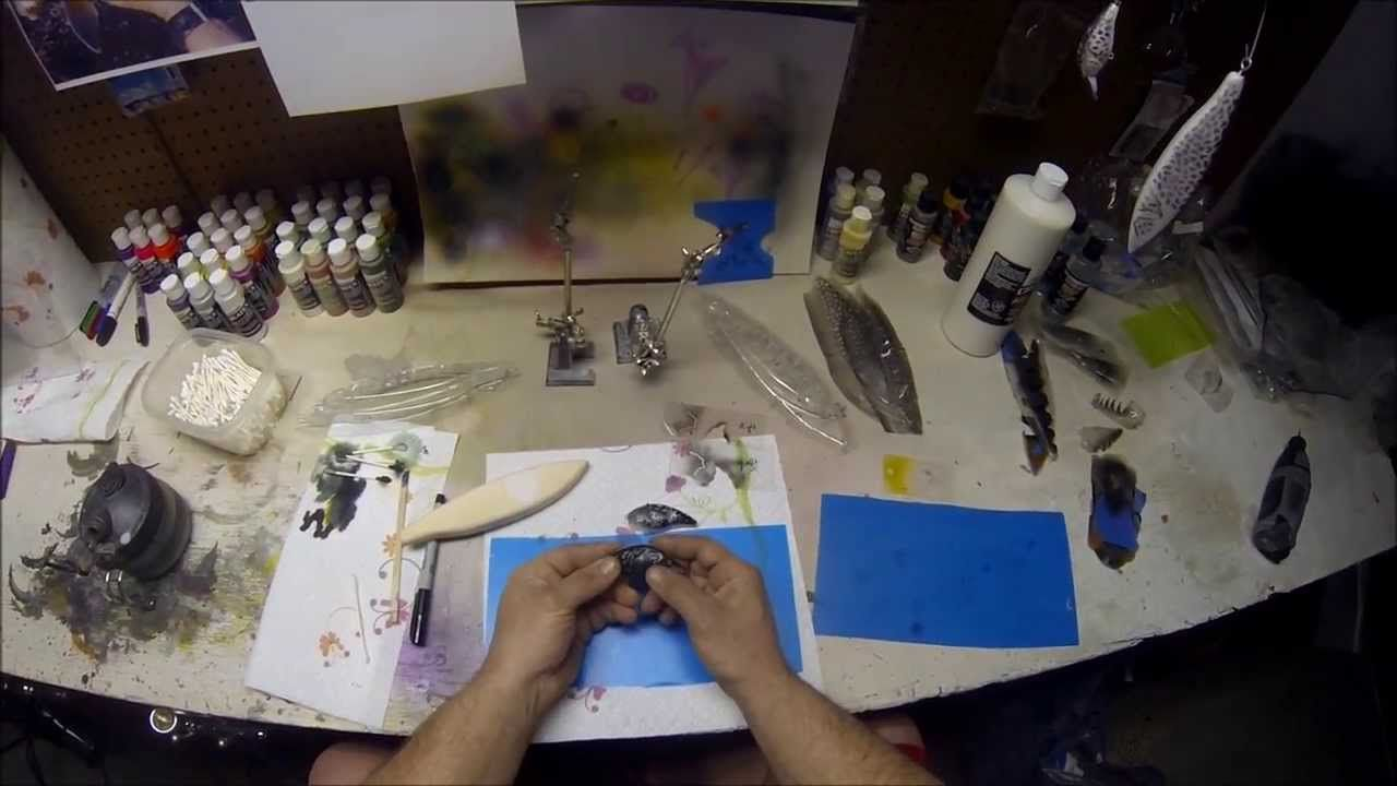 How to make a lure stencil homemade fishing lures