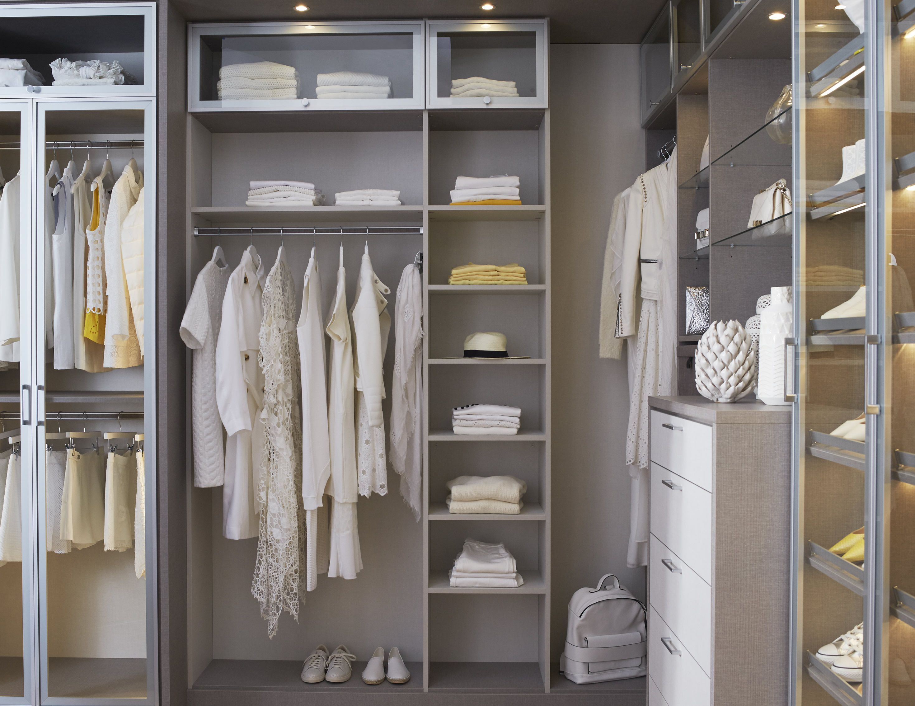 Make The Most Of Your Closet Space With Custom Closet Designs From  California Closets. Find This Pin And More ...