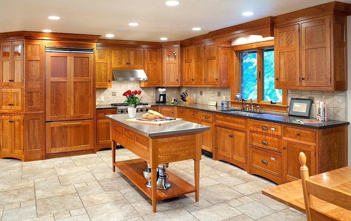 Plush Knotty Alder Kitchen Cabinets ... | Cabin Kitchen ...