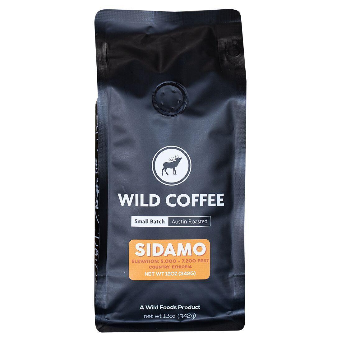 Wild Coffee Beans Sidamo Medium Coffee Beans Coffee Grinding Coffee Beans