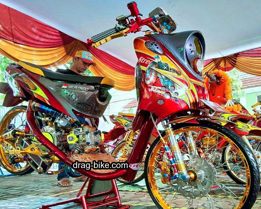 Motor Mio Soul Modifikasi Thailook Drag Pinterest Drag Bike