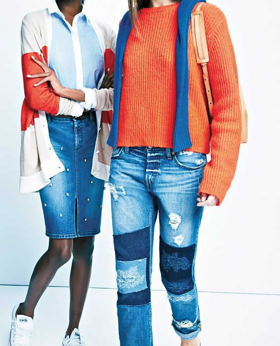 What Your Denim Says About You - The Cool Prepster from #InStyle