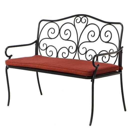Fabulous Grand Patio Steel Outdoor Patio Porch Garden Bench Outdoor Pabps2019 Chair Design Images Pabps2019Com