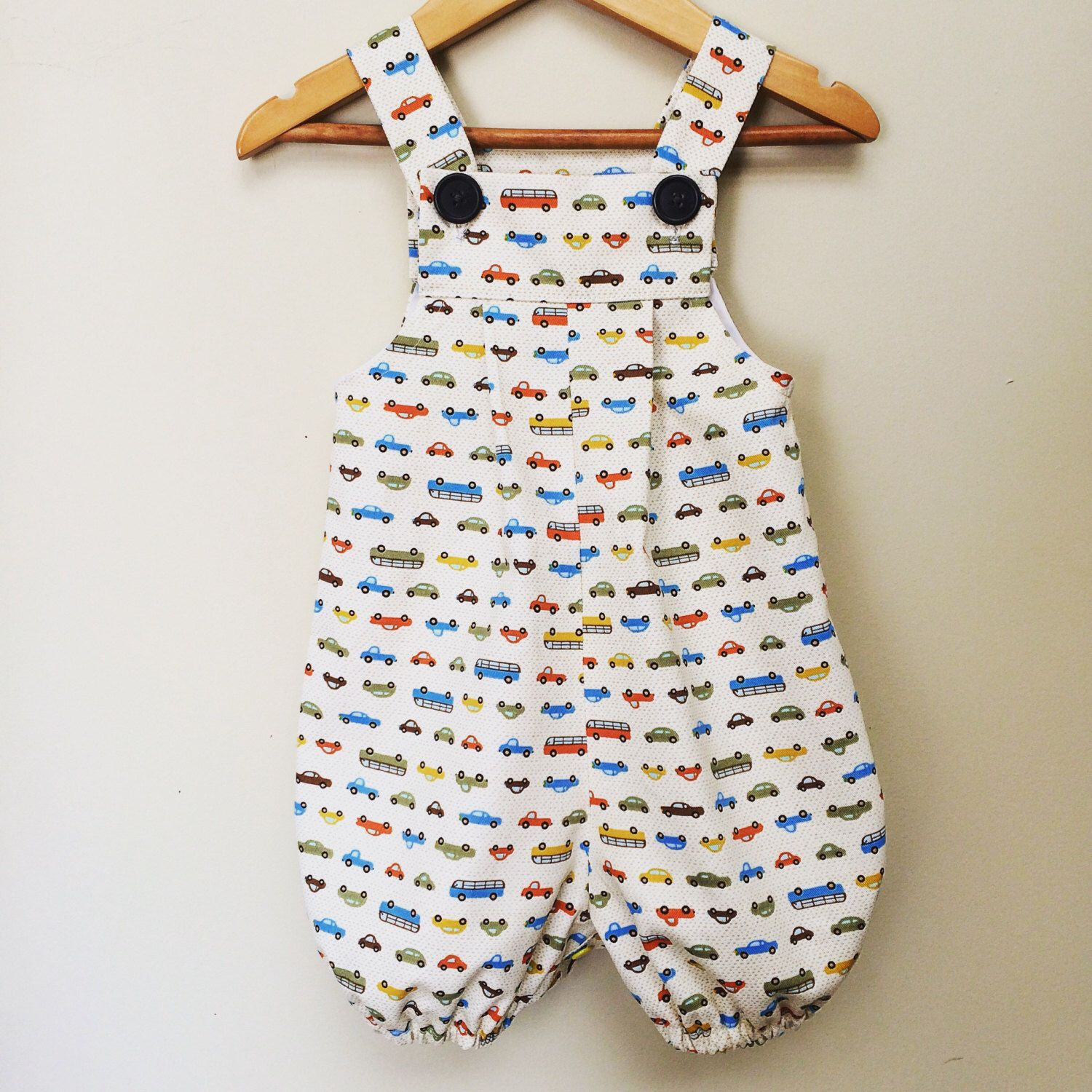 406b8bd4f Baby boys summer overalls handmade baby boys outfit. Cars fabric ...