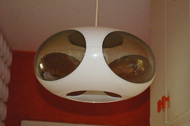 Luigi Colani ufo light lamp 1970s