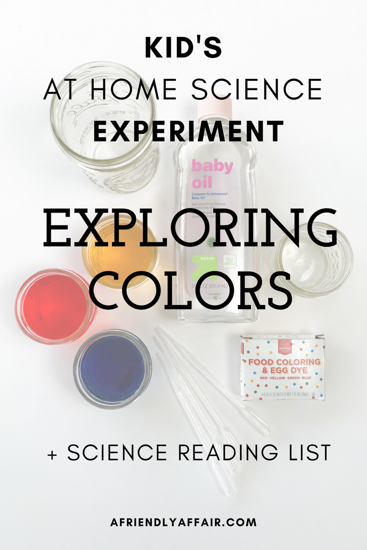 Fun with Colors // At Home Science Project | Teaching colors ...