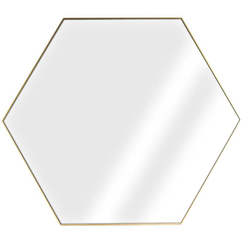 Mechling Accent Mirror In 2020 With Images Hexagon