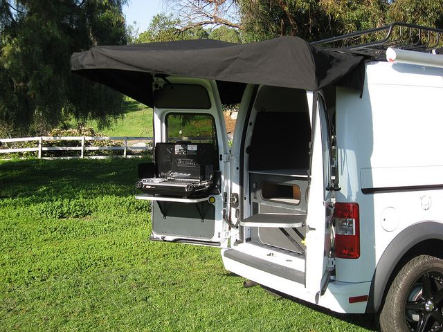 Ford Transit Connect Camper 4 The Great Outdoors