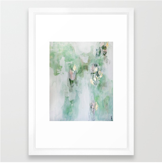 This framed abstract art print for less than the price of framing ...