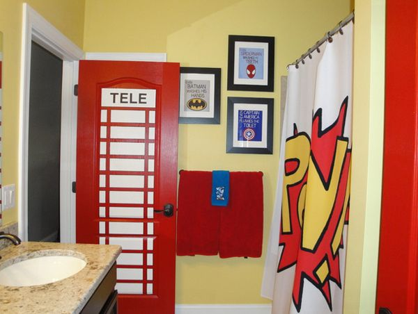 Genial 20 Fun Boys Bathroom Decors | Home Design Lover