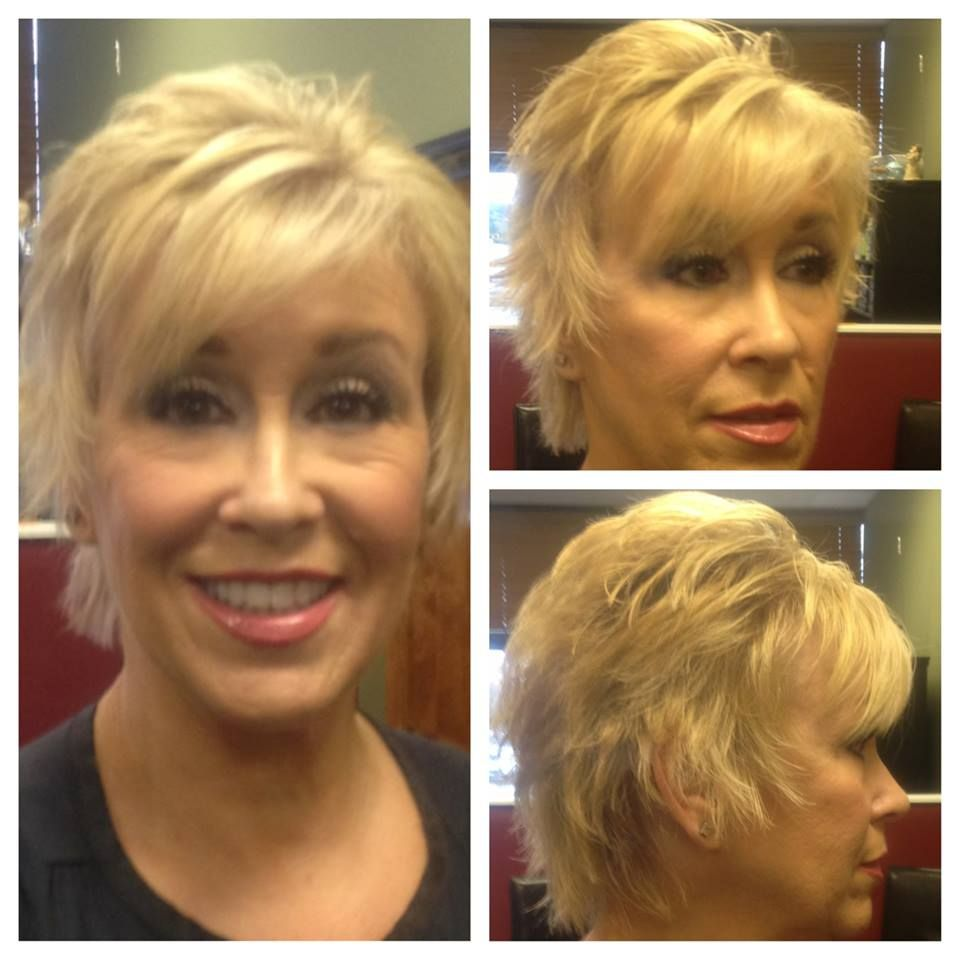 New color cut and style hair by stylist teresa sharp pinterest