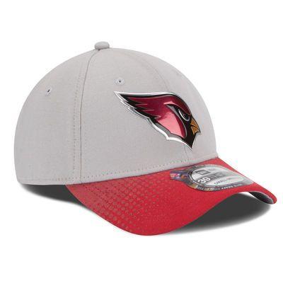 Men s Arizona Cardinals New Era Gray Cardinal 2015 NFL Draft 39THIRTY Flex  Hat a95ccb9d94