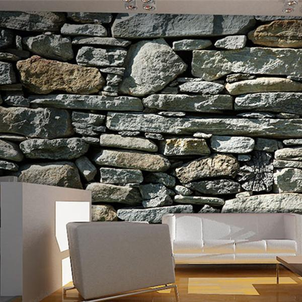 3d Stone Effect Wallpaper Roll Wp131 Rocas