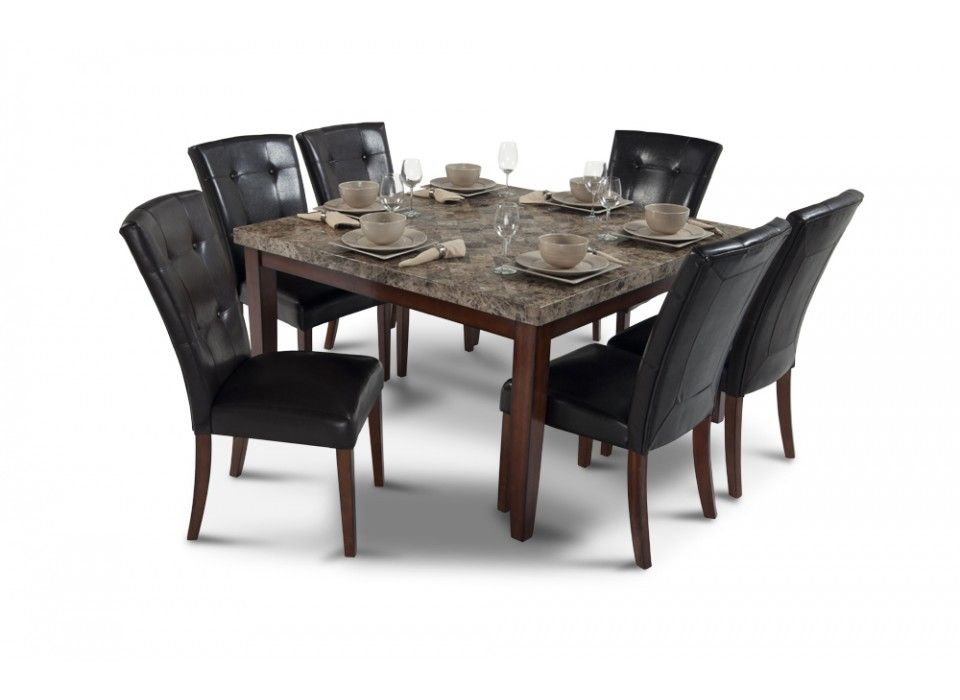 Montibello 54 Quot X 54 Quot 7 Piece Dining Set House Dining