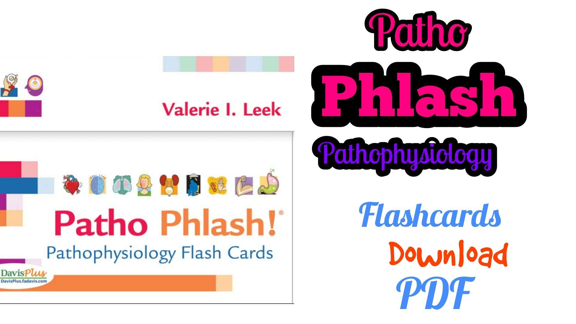 Patho Phlash! Pathophysiology Flash Cards eBook [PDF