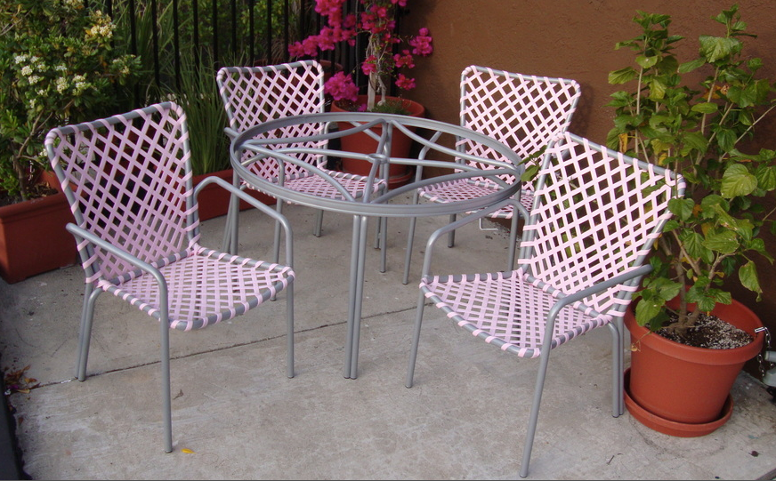 Mid Century Modern Patio Furniture With Or Design Within Reachu0027s Minimalist  Steel ...
