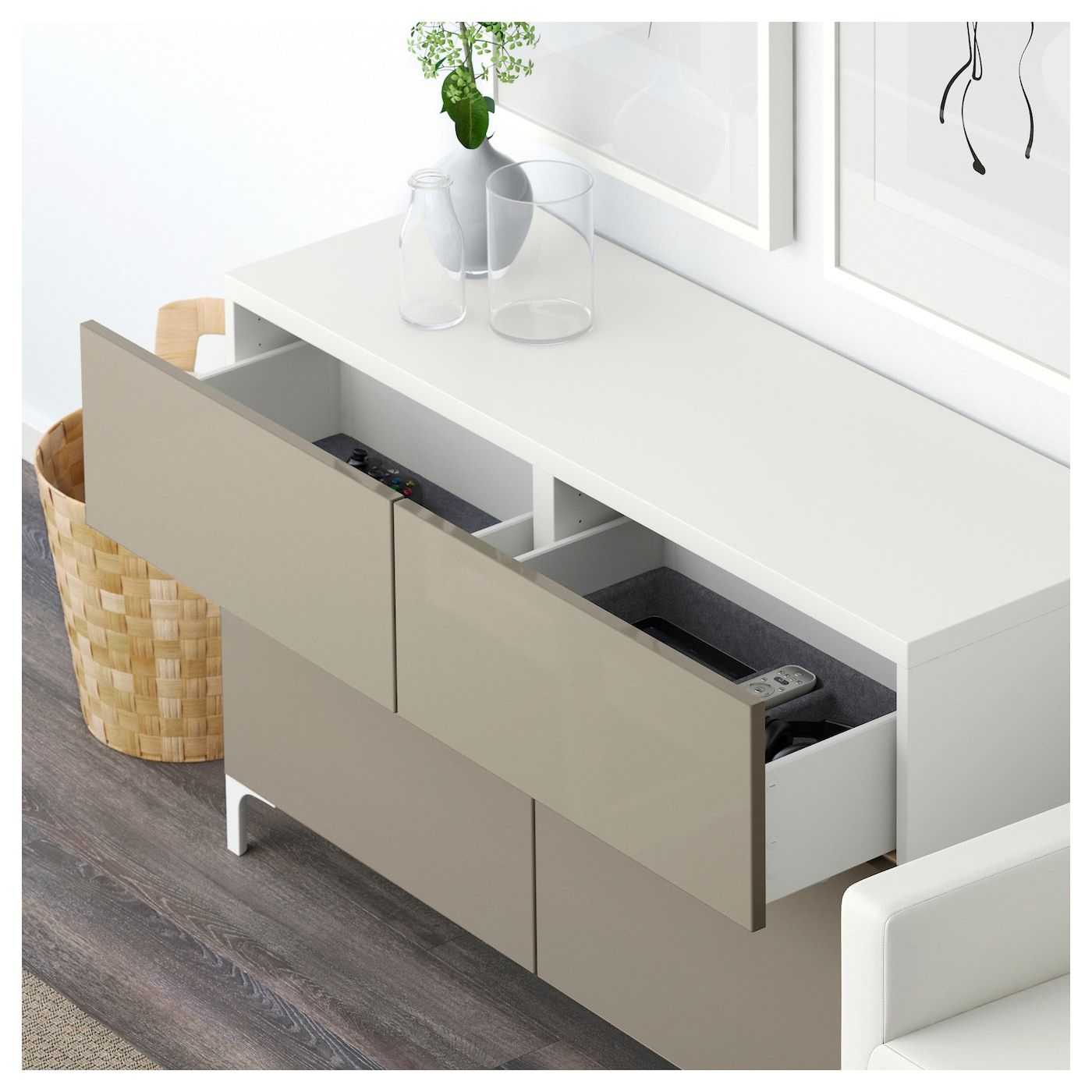 Ikea Kommode Schwarz 2021