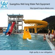 Swimming Pool Slide Water Parks Toys Used Fiberglass Combination ...