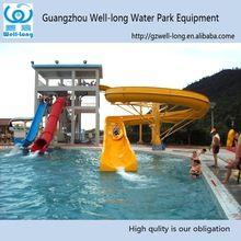Swimming Pool Slide Water Parks Toys Used Fiberglass ...