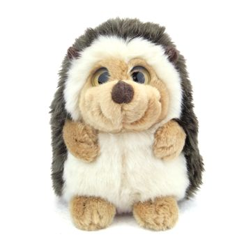 a8c56d936524 Big Eyed Stuffed Baby Hedgehog Wild Watcher by Wild Republic ...