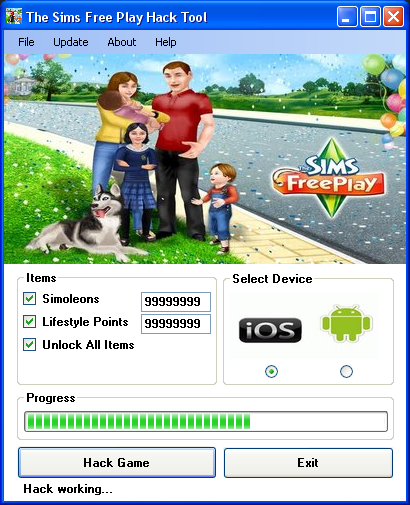 sims freeplay hack cheat engine