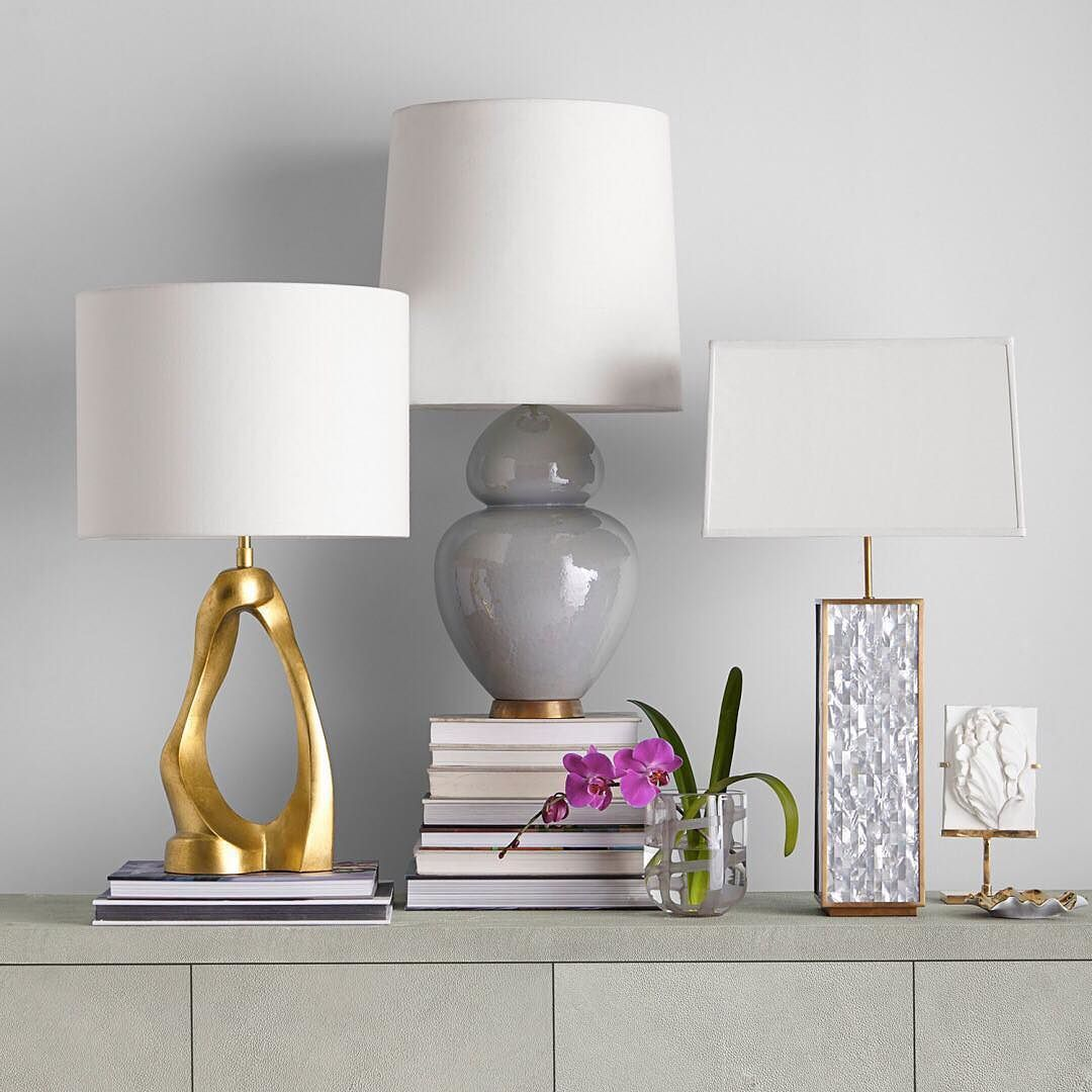 Itu0027s Hard To Choose A Favorite When It Comes To The New @aerin Collection,  But These Table Lamps Are Certainly At The Top Of The List! Which Style Do  You ...