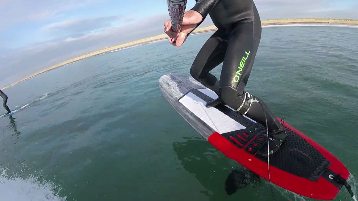Vidéo stand up paddle foil noserider Gong Surfboard - Foil Magazine