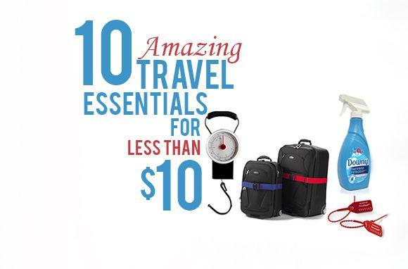 10 Reiseutensilien, die weniger als 10 US-Dollar kosten   – Travel Articals
