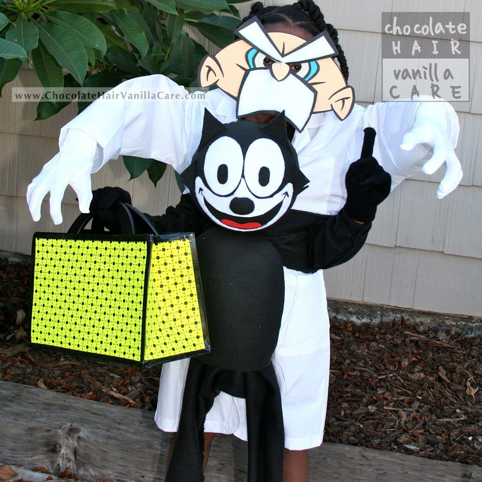 DIY Felix the Cat Costume & DIY Felix the Cat Costume | Halloween Costumes | Pinterest ...