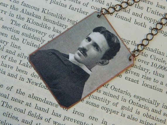 Hey, I found this really awesome Etsy listing at https://www.etsy.com/listing/251383690/nikola-tesla-necklace-mixed-media