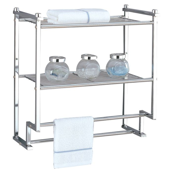 Reviews for Organize It All Metro Wall Mounted Towel Rack | Wayfair ...