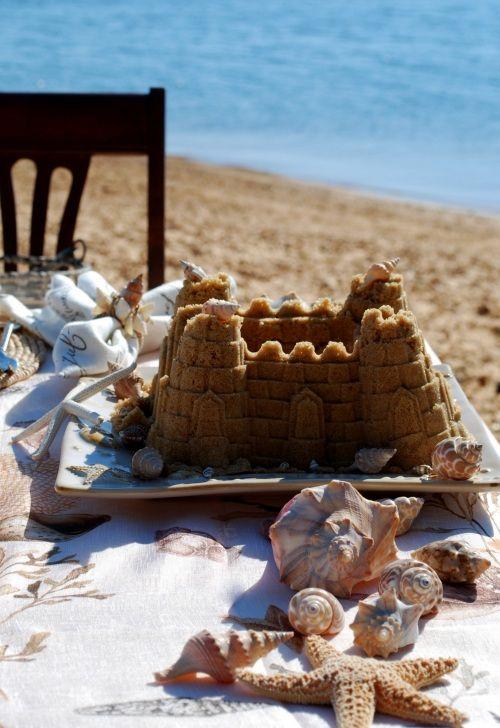 Sand castles & starfish.  ~ℛ