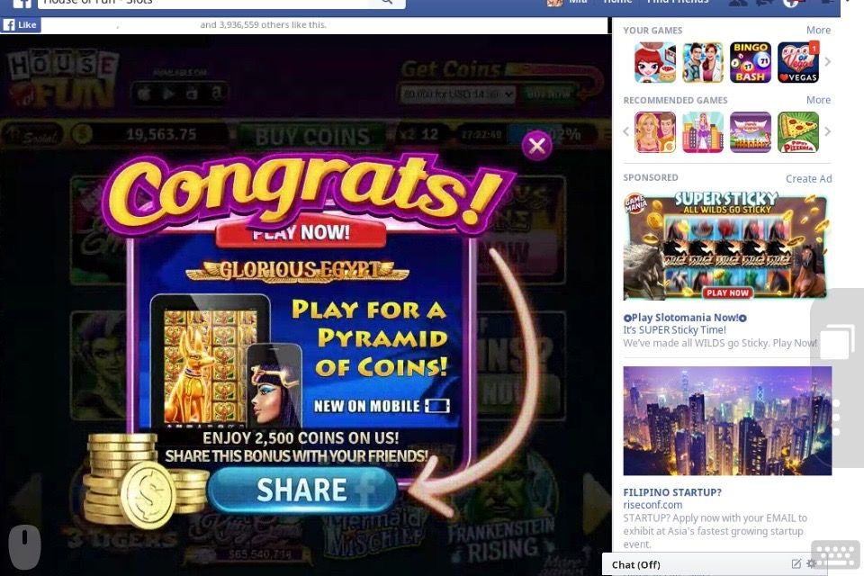 Follow House Of Fun Slots On Gamehunters Club To Get The Latest Cheats Free Coins Promo Codes Amp Tricks Join Us No Coin Tricks Gaming Tips Online Casino