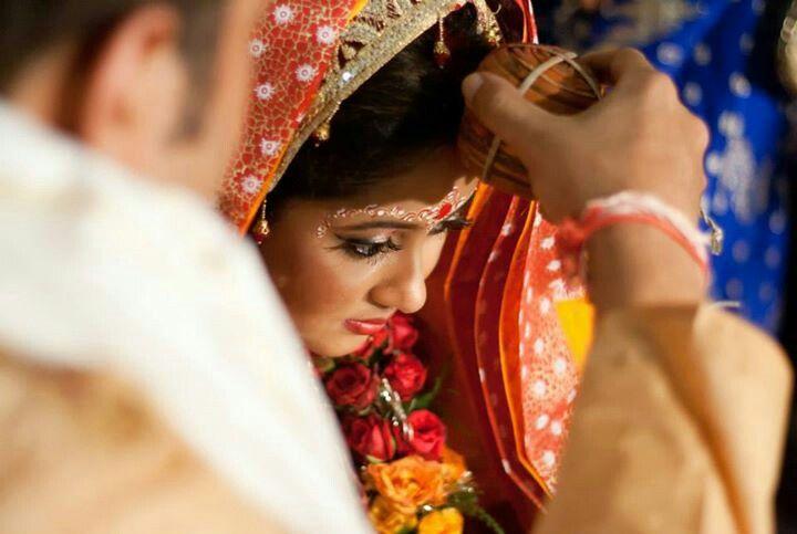 Bengali sindoor daan | bengali bridal makeup | Bengali wedding