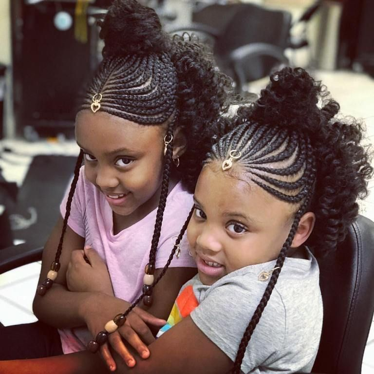 Awesome Braided Hairstyles For Little Girls Loud In Naija Hair Styles Kids Hairstyles Lemonade Braids Hairstyles