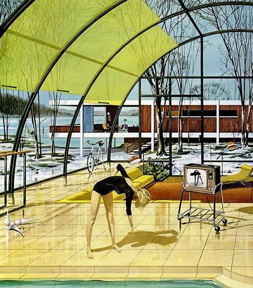 """Oh So Lovely Vintage: """"House of the Future"""""""