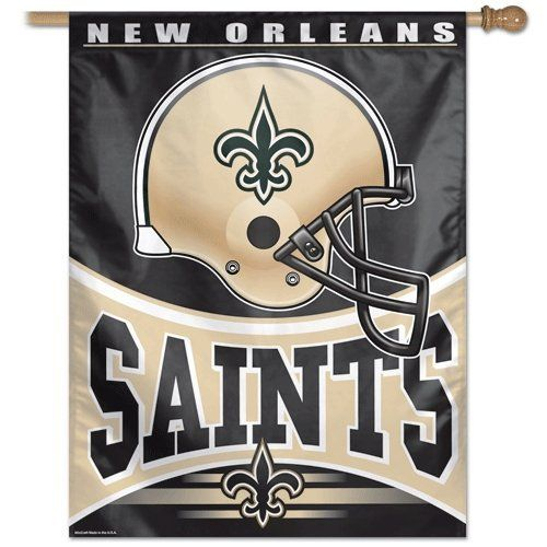 Nfl New Orleans Saints 27 By 37 Inch Vertical Flag By Wincraft
