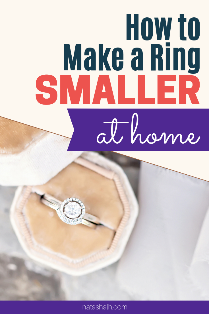 How To Resize Your Ring At Home Comfortable Pretty Way To Make Your Loose Ring Fit Make A Ring Smaller How To Make Rings Small Rings