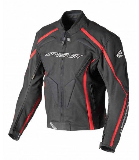 Agv Sport Dragon Motorcycle Leather Jacket Leather Jacket Men