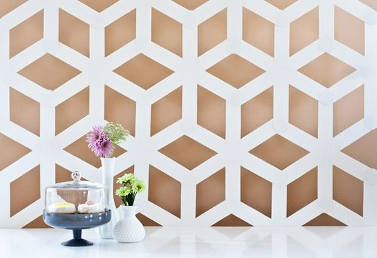 REVEL: DIY Geometric Backdrop
