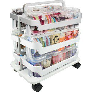 Deflecto Stackable Caddy Organizer Caddy Bundle - 22.3 ...