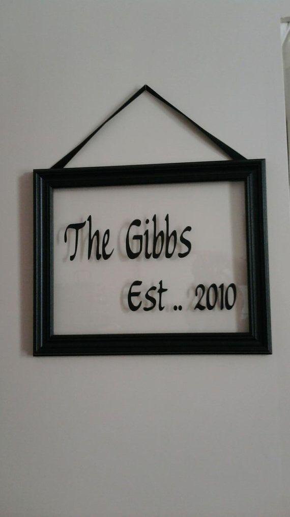 vinyl on frame. cute | For My Home. | Pinterest | Cricut, Vinyl ...