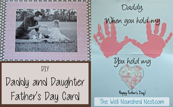 Diy Father S Day Card Craft The Well Nourished Nest When